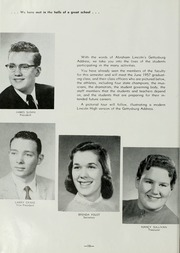 Page 12, 1957 Edition, Abraham Lincoln High School - Railsplitter Yearbook (Des Moines, IA) online yearbook collection