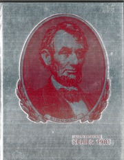 Abraham Lincoln High School - Railsplitter Yearbook (Des Moines, IA) online yearbook collection, 1981 Edition, Cover
