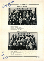 Page 17, 1934 Edition, Abraham Lincoln Junior High School - Annual Yearbook (Rockford, IL) online yearbook collection