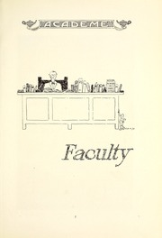 Page 15, 1926 Edition, Academy High School - Academe Yearbook (Erie, PA) online yearbook collection