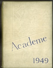 Academy High School - Academe Yearbook (Erie, PA) online yearbook collection, 1949 Edition, Cover