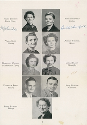 Page 13, 1949 Edition, Academy High School - Academe Yearbook (Erie, PA) online yearbook collection