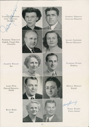 Page 15, 1949 Edition, Academy High School - Academe Yearbook (Erie, PA) online yearbook collection
