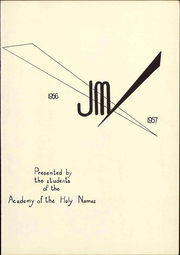 Page 7, 1957 Edition, Academy of the Holy Names - JM Yearbook (Albany, NY) online yearbook collection