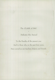 Page 8, 1947 Edition, Academy of the Immaculate Conception - Pax Yearbook (Ferdinand, IN) online yearbook collection