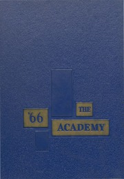 Academy of Notre Dame - Memories Yearbook (Belleville, IL) online yearbook collection, 1966 Edition, Cover