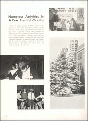Page 12, 1966 Edition, Academy of Notre Dame - Memories Yearbook (Belleville, IL) online yearbook collection