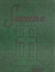 Academy of Our Lady / Spalding Institute - Summa Yearbook (Peoria, IL) online yearbook collection, 1957 Edition, Cover