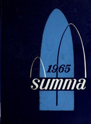 Academy of Our Lady / Spalding Institute - Summa Yearbook (Peoria, IL) online yearbook collection, 1965 Edition, Cover