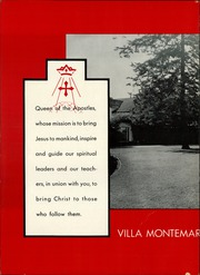 Academy of Our Lady of Peace - Villa Montemar Yearbook (San Diego, CA) online yearbook collection, 1955 Edition, Page 8