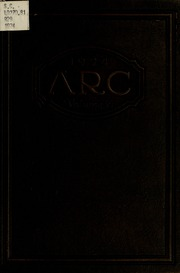 Academy of Richmond County High School - Arc Yearbook (Augusta, GA) online yearbook collection, 1924 Edition, Cover