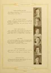 Page 17, 1932 Edition, Academy of Richmond County High School - Arc Yearbook (Augusta, GA) online yearbook collection