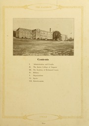 Page 7, 1932 Edition, Academy of Richmond County High School - Arc Yearbook (Augusta, GA) online yearbook collection