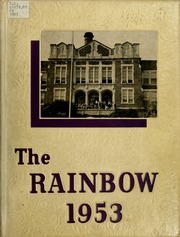 Academy of Richmond County High School - Arc Yearbook (Augusta, GA) online yearbook collection, 1953 Edition, Cover