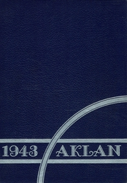 Acalanes High School - Aklan Yearbook (Lafayette, CA) online yearbook collection, 1943 Edition, Cover
