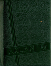 Acalanes High School - Aklan Yearbook (Lafayette, CA) online yearbook collection, 1951 Edition, Cover