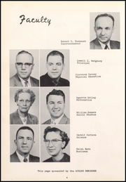 Page 8, 1956 Edition, Ackley High School - Torch Yearbook (Ackley, IA) online yearbook collection
