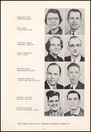 Page 9, 1956 Edition, Ackley High School - Torch Yearbook (Ackley, IA) online yearbook collection