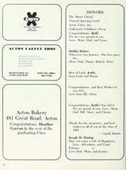 Acton Boxborough Regional High School - Torch Yearbook (Acton, MA) online yearbook collection, 1985 Edition, Page 206