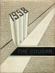 Ada High School - Cougar Yearbook (Ada, OK) online yearbook collection, 1958 Edition, Cover