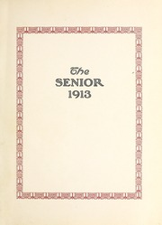 Ada High School - We Yearbook (Ada, OH) online yearbook collection, 1913 Edition, Page 5 of 78