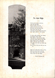 Page 10, 1928 Edition, Ada High School - We Yearbook (Ada, OH) online yearbook collection