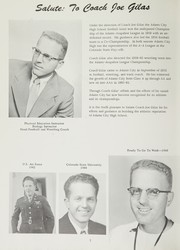 Page 6, 1960 Edition, Adams City High School - Eagle Yearbook (Commerce City, CO) online yearbook collection