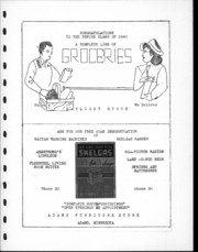 Adams High School - Argo Yearbook (Adams, MN) online yearbook collection, 1940 Edition, Page 114 of 120