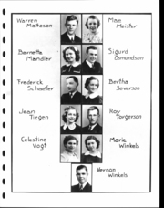 Adams High School - Argo Yearbook (Adams, MN) online yearbook collection, 1940 Edition, Page 20 of 120