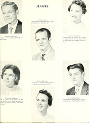 Adams Township High School - Mirage Yearbook (St Michael, PA) online yearbook collection, 1958 Edition, Page 21