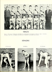 Adams Township High School - Mirage Yearbook (St Michael, PA) online yearbook collection, 1958 Edition, Page 59 of 80