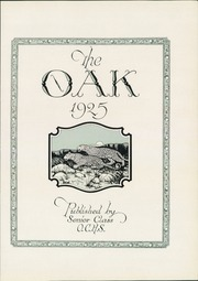 Adamson High School - Oak Yearbook (Dallas, TX) online yearbook collection, 1925 Edition, Page 7 of 192