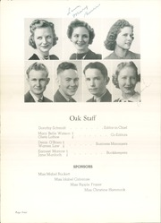 Page 8, 1940 Edition, Adamson High School - Oak Yearbook (Dallas, TX) online yearbook collection