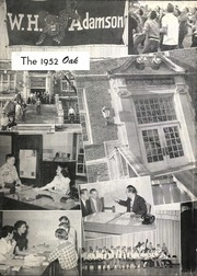 Adamson High School - Oak Yearbook (Dallas, TX) online yearbook collection, 1952 Edition, Page 6