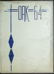 Adamson High School - Oak Yearbook (Dallas, TX) online yearbook collection, 1964 Edition, Cover