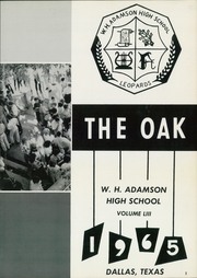 Page 7, 1965 Edition, Adamson High School - Oak Yearbook (Dallas, TX) online yearbook collection