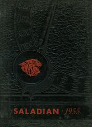 Adamsville High School - Saladian Yearbook (Adamsville, NY) online yearbook collection, 1955 Edition, Cover