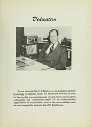 Page 7, 1951 Edition, Adelphian Academy - Bell Echoes Yearbook (Holly, MI) online yearbook collection