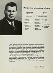 Page 8, 1951 Edition, Adelphian Academy - Bell Echoes Yearbook (Holly, MI) online yearbook collection