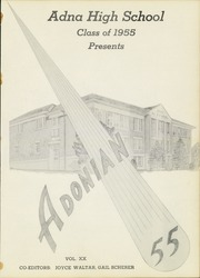Page 7, 1955 Edition, Adna High School - Adonian Yearbook (Adna, WA) online yearbook collection