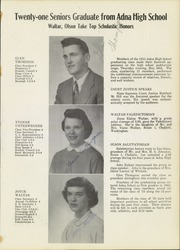 Page 9, 1955 Edition, Adna High School - Adonian Yearbook (Adna, WA) online yearbook collection