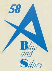 Adolfo Camarillo High School - Blue and Silver Yearbook (Camarillo, CA) online yearbook collection, 1958 Edition, Cover