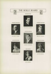 Page 10, 1914 Edition, Adrian High School - Sickle Yearbook (Adrian, MI) online yearbook collection