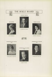 Page 11, 1914 Edition, Adrian High School - Sickle Yearbook (Adrian, MI) online yearbook collection