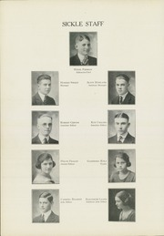Adrian High School - Sickle Yearbook (Adrian, MI) online yearbook collection, 1921 Edition, Page 12
