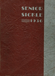 Adrian High School - Sickle Yearbook (Adrian, MI) online yearbook collection, 1936 Edition, Cover
