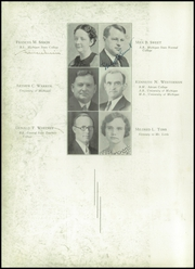 Page 14, 1936 Edition, Adrian High School - Sickle Yearbook (Adrian, MI) online yearbook collection