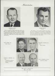 Page 9, 1949 Edition, Adrian High School - Sickle Yearbook (Adrian, MI) online yearbook collection