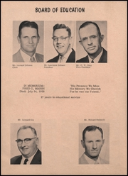 Page 8, 1959 Edition, Afton High School - Eagle Pride Yearbook (Afton, OK) online yearbook collection