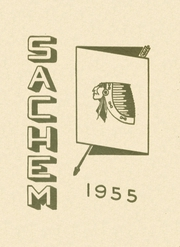 Agawam High School - Sachem Yearbook (Agawam, MA) online yearbook collection, 1955 Edition, Cover